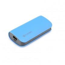 Powerbank Omega PMPB52LBL 5200mAh, 2,1A, kožená, modrá