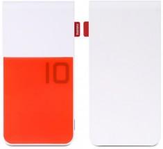Powerbank Remax COLOR 10000mAh, biela/červená