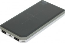 Powerbank s bezdrôtovým nabíjaním Remax 10000mAh s QI, čierna