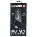 Powerbank SWISSTEN 20000 mAh, Li-Pol, 2xUSB/USB Typ C/micro USB