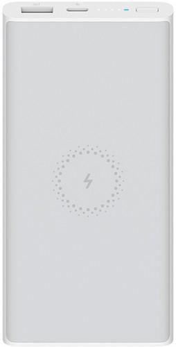 PowerBank Xiaomi 10 000 mAh, bezdrôtové nabíjanie, biela