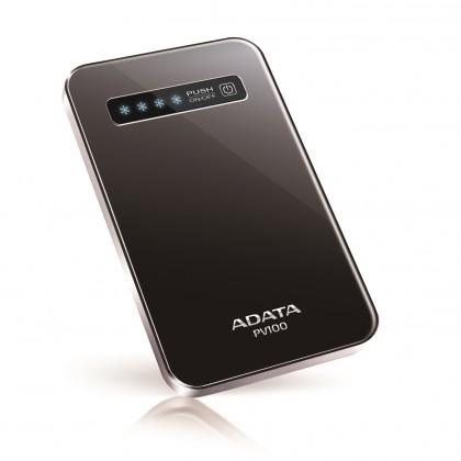 Powerbanka ADATA PV100 Power Bank 4200mAh, čierna