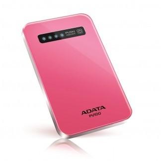 Powerbanka ADATA PV100 Power Bank 4200mAh, ružová