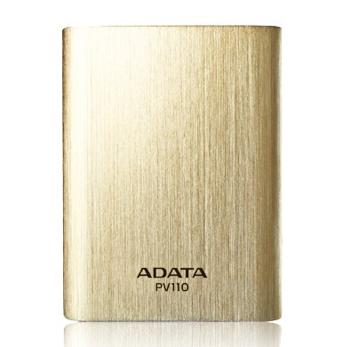 Powerbanka ADATA PV110 Power Bank 10400mAh, zlatá