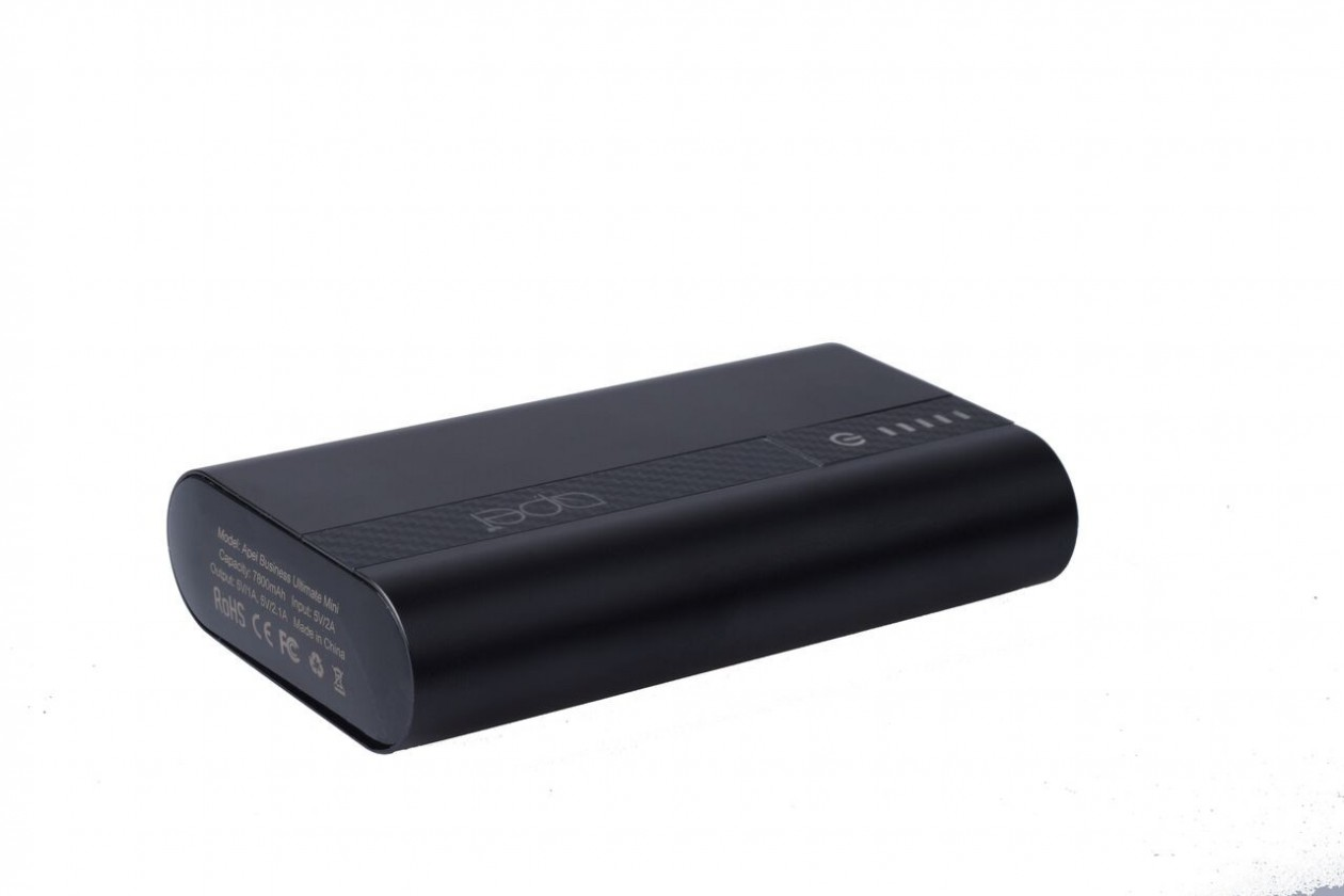 Powerbanka Apei Business Ultimate Mini 7800 mAh (black)