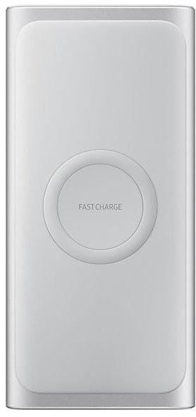 Powerbanka Bezdrôtová powerbank Samsung 10000mAh s QI, USB-C, strieborná