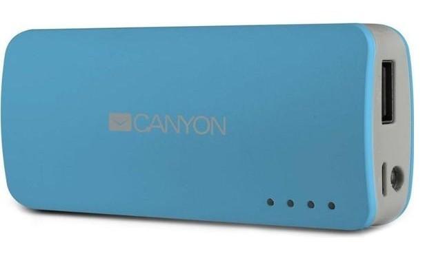 Powerbanka Canyon CNE-CPB44 Power Bank 4400mAh, modrá