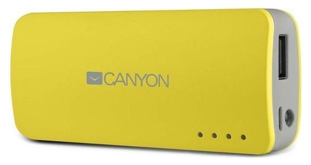 Powerbanka Canyon CNE-CPB44 Power Bank 4400mAh, žltá