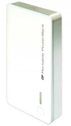Powerbanka Powerbank GP 5200 mAh biely
