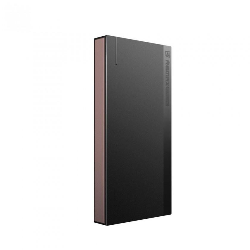 Powerbanka Powerbank Remax 10000mAh s čítačkou pamäťových kariet, zlatá