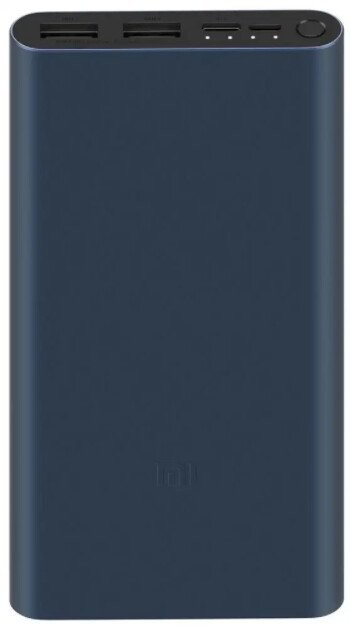 Powerbanka Powerbank Xiaomi Mi Fast Charge 3 18W, 10000mAh, čierna