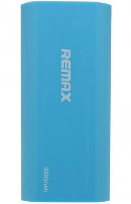 Powerbanka REMAX PowerBank 5 000 mAh plastic BLUE