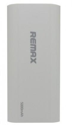 Powerbanka REMAX PowerBank 5 000 mAh plastic, WHITE