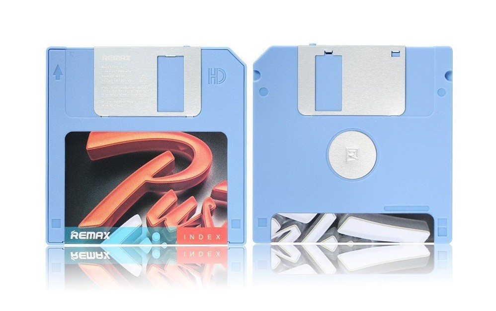 Powerbanka Remax powerbanka RPP-17 Disk Series, 5000 mAh, modrá