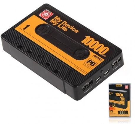 Powerbanka Remax powerbanka Tape, 10000 mAh, černá