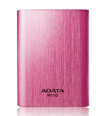 Powerbanky ADATA PV110 Power Bank 10400mAh, ružová