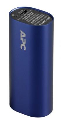 Powerbanky APC Mobile Power Pack, 3000mAh Li-ion cylinder, modrý M3BL-EC