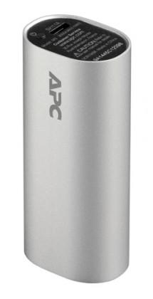 Powerbanky APC Mobile Power Pack, 3000mAh Li-ion cylinder, stříbrný M3SR-EC