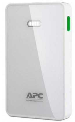 Powerbanky APC Mobile Power Pack, 5000 bílý (M5WH-EC)