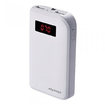 Powerbanky MyMax PowerBank CARBON 10000mAh ( White )