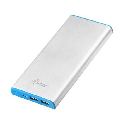 Powerbanky Power Bank METAL 12000 mAh Li-pol with micro USB cable