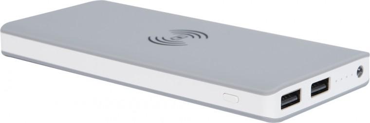 Powerbanky Powerbank s bezdrôtovým nabíjaním BIGBEN 8000mAh, šedá