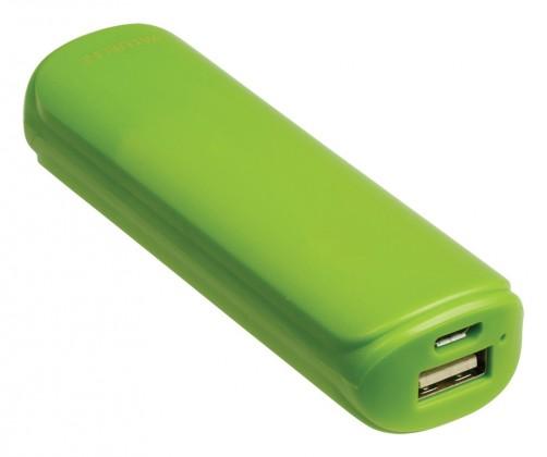 Powerbanky VALUELINE 2 200 mAh, 5 V, 1 A, zelený (VL2200PB001GR)