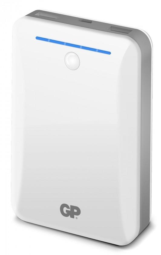 Powerbanky Záložný zdroj energie GP 10400mAh biely (GL301W)
