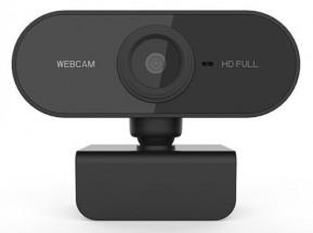 Powerton HD Webkamera PWCAM2, 1080p, čierna