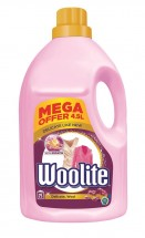 Prací gél Woolite WOLIDELICATE75, Delicate & Wool, 4,5l