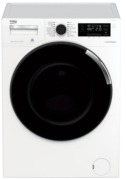 Práčka predom plnená Práčka s predným plnením Beko WTV 8744 CS XW0, 8kg