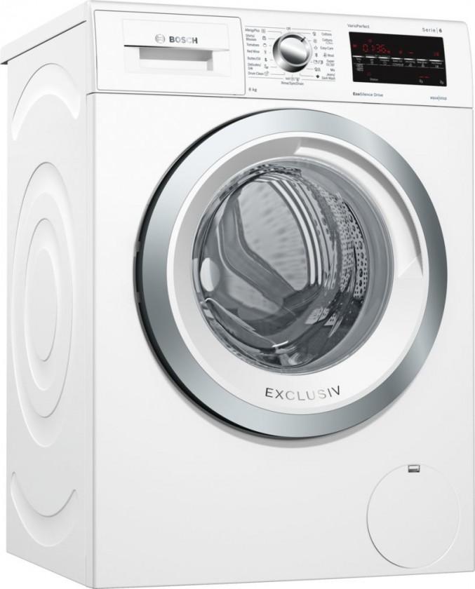 Práčka predom plnená Práčka s predným plnením Bosch WAT28490BY, A+++-30%, 8 kg