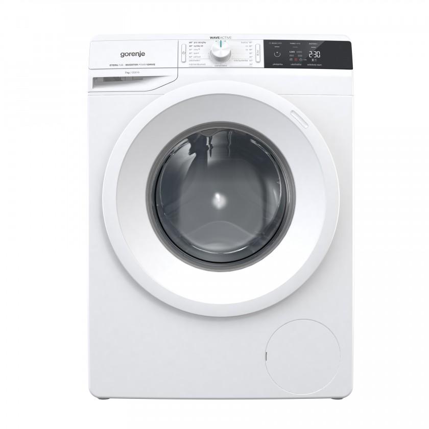 Práčka predom plnená Práčka s predným plnením Gorenje W2EI72S3, A+++, 7 kg