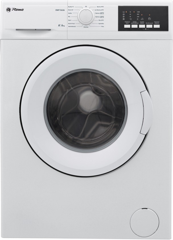 Práčka predom plnená Práčka s predným plnením RWF1060A, A++, 6kg