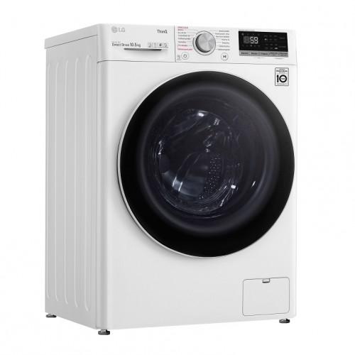 Práčka s predným plnením LG F4WV710P0E, B, 8,5 kg