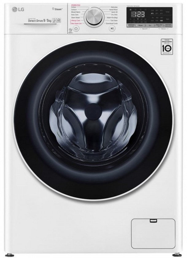 Práčka so sušičkou Parná práčka se sušičkou LG F4DN509S0,A,9/5kg