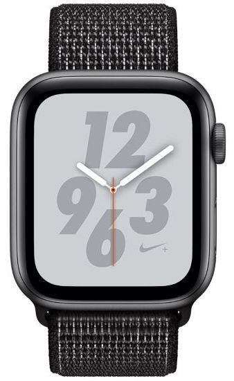 Pre Apple Apple Watch Nike+ Series 4 GPS, 44mm, sivá, prevliekací remienok