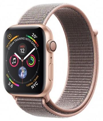 Pre Apple Apple Watch Series 4 GPS, 40mm, ružová, prevliekací remienok