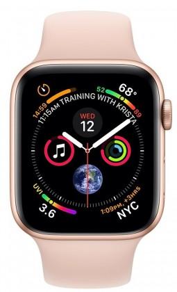 Pre Apple Apple Watch Series 4 GPS, 40mm, ružová, športový remienok