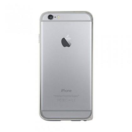 Pre Apple Bigben Bumper stribrny+ochranpre folie pre IPHONE 6/6s