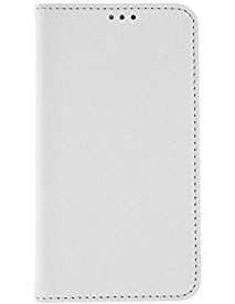 Pre Apple Bigben flip puzdro pre iPhone 6 / 6s, desing kože, biela