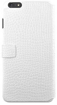 Pre Apple Bigben Folio pre IPHONE 6/6s Croco ,biela-kovove logo