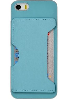 Pre Apple Bigben gelskin pre iPhone 6 / 6s s vreckom, modrá