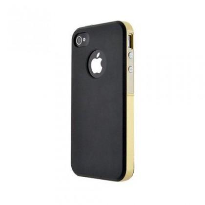 Pre Apple Bigben Hard Shell pre Iphone 6/6s, cierna/zlatá