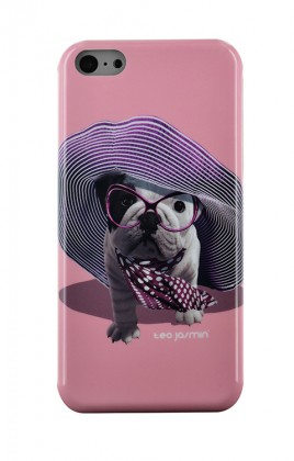 Pre Apple Bigben Kryt pre IPHONE 5/5c/5s Teo Croisette,růžová