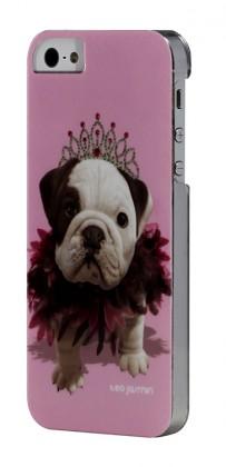 Pre Apple Bigben Kryt pre IPHONE 5/5c/5s Teo Queen,růžová