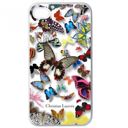 Pre Apple Bigben kryt pre iPhone 6/6s Butterfly 3D, biela