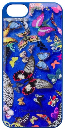 Pre Apple Bigben kryt pre iPhone 6/6s Butterfly 3D, modrá