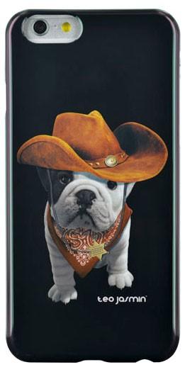 Pre Apple Bigben Kryt pre IPHONE 6 Teo Cowboy,cierna