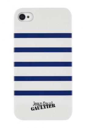 Pre Apple Bigben Kryt pro iPhone 5c MARINIERE, biela/modrá